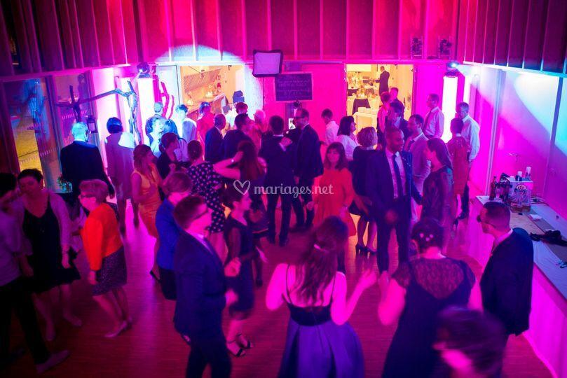 Salle de convivialité danse