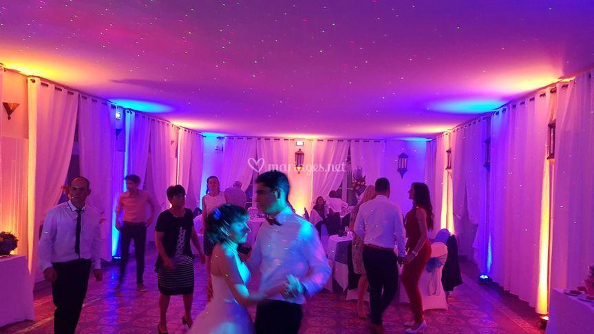 Ambiance dancefloor des mariés