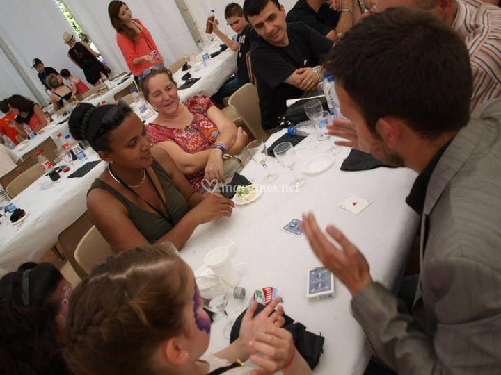 Magie à table