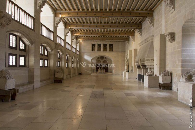 salle des gardes sur chteau de pierrefonds - Chateau De Pierrefonds Mariage