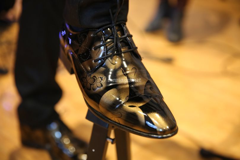 Chaussures d'artiste...