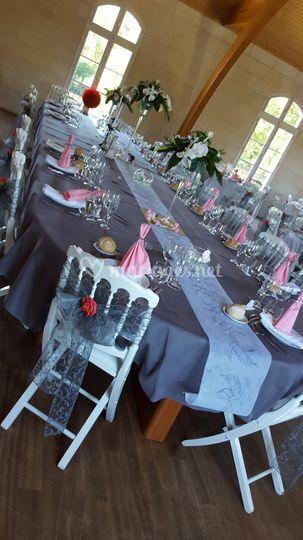Table des mariés château  Libo