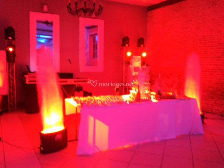 Flammes décorativbes à LED