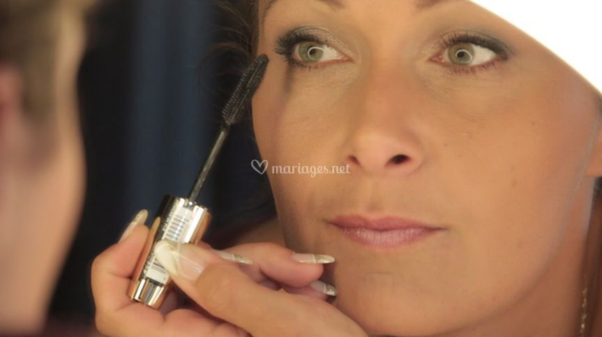 Maquillage en salon