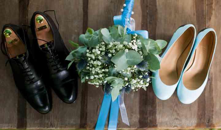 Mariage en couleur bleu