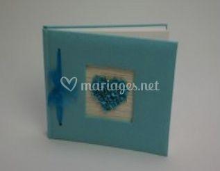 Papier turquoise