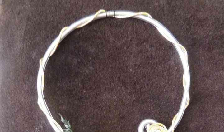 Collier fil alu 4 et 2 mm 35 e