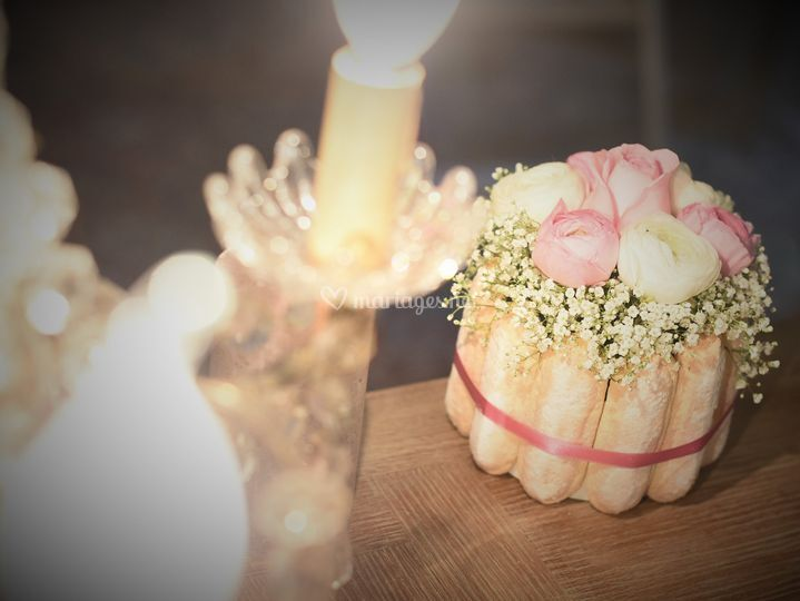 Gâteau de fleur