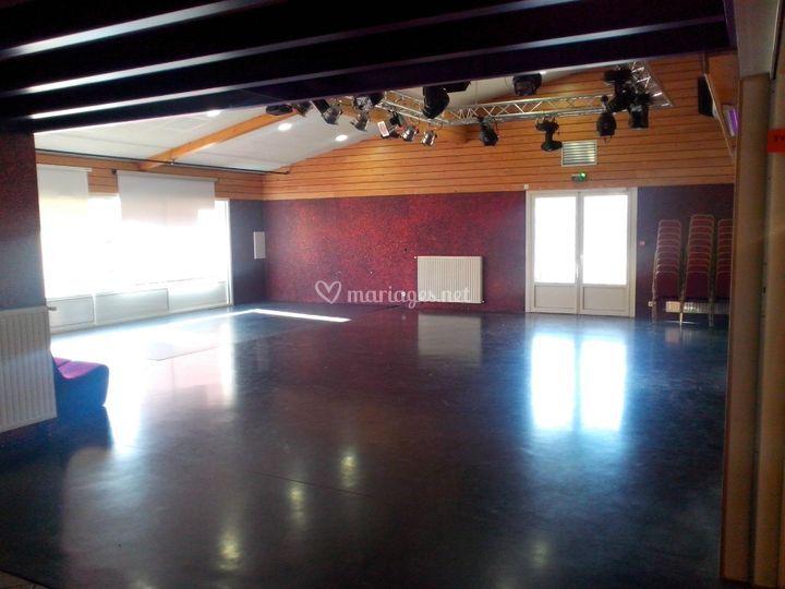 Salle scène concert