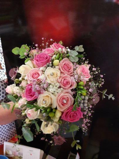 Bouquet romantique chic