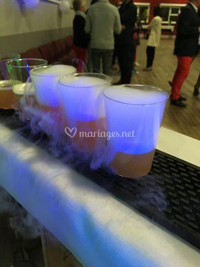 Cocktails fumant
