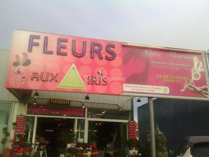 Aux Iris fleuriste cabestany