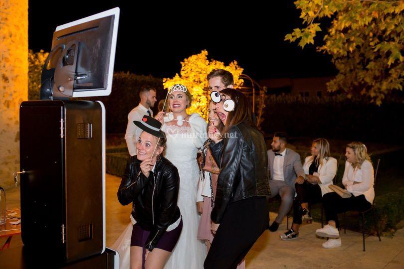 Le photobooth en extérieur