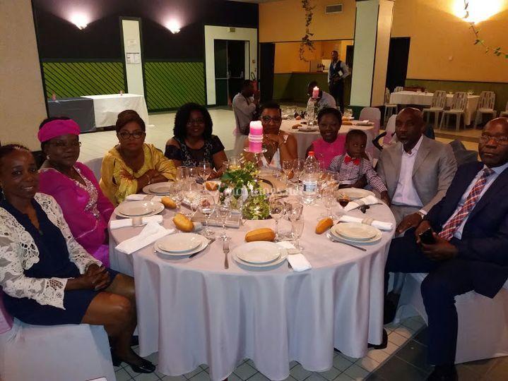 Réception familiale juillet 2017