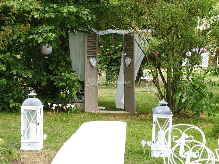 Portes décoratives en bois