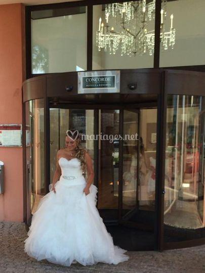 Sortie de la mariée