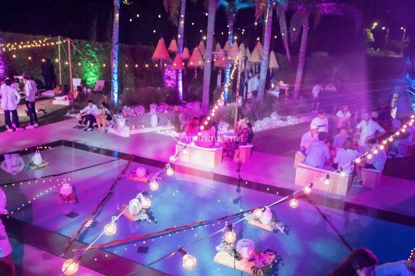 Décoration piscine et jardins