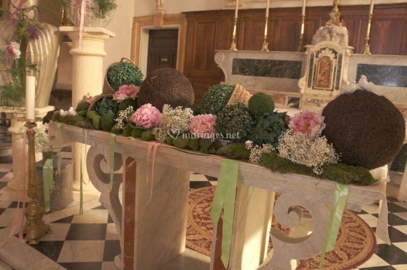 Déco cérémonie église
