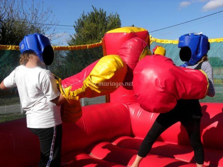 Jump air loisirs for Service de boxe de mariage