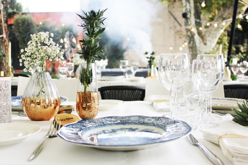 Décoration de table Grand Jardin