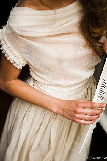 Robe de mariée Maison de Coutu