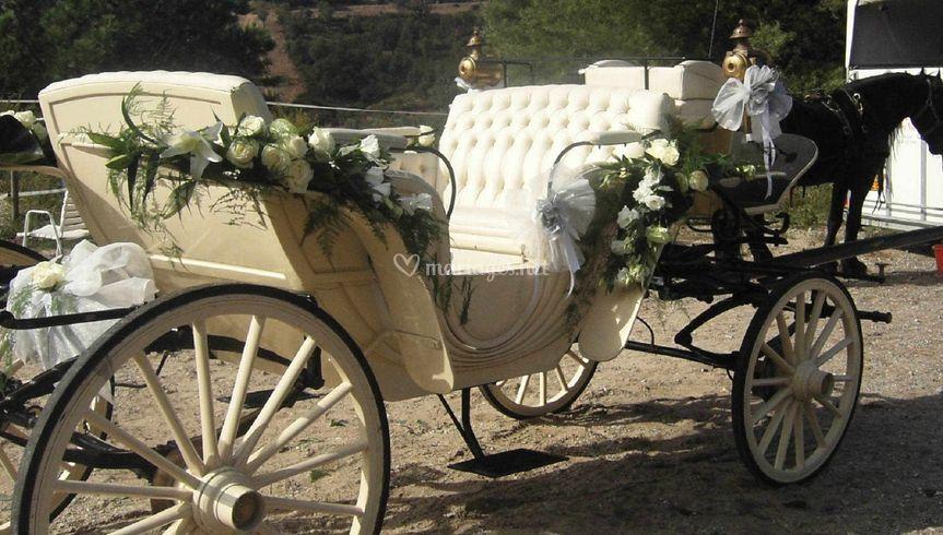 Carosse mariage