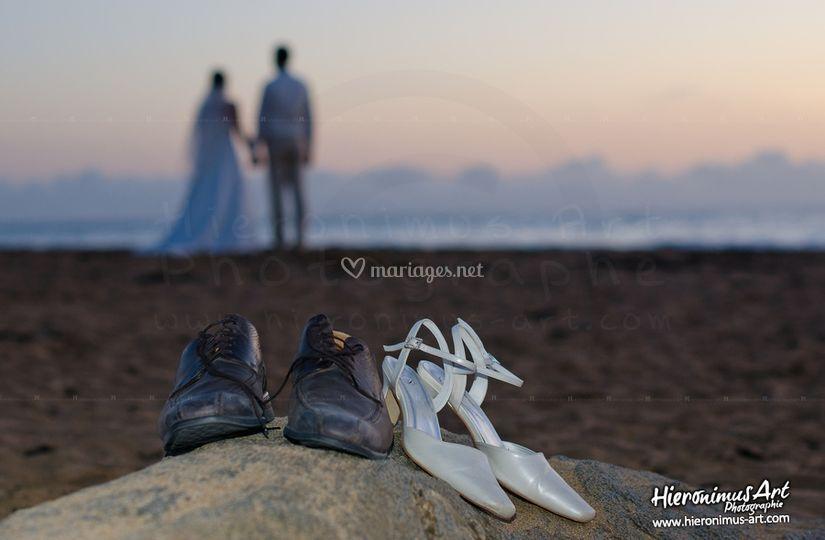 Nous à la mer sur Hieronimus Art Photographe
