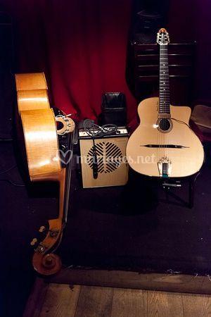 Guitare et contrebasse