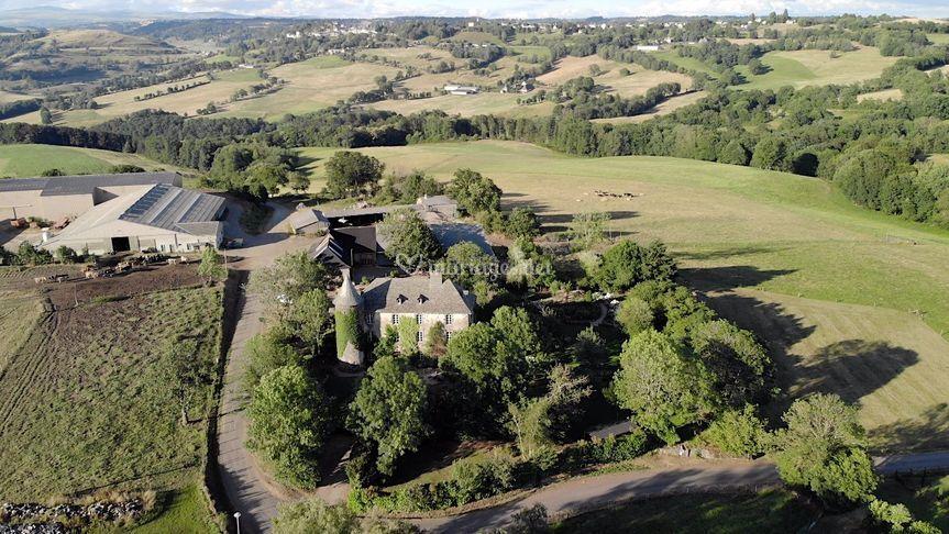 Chateau de Taussac Drone