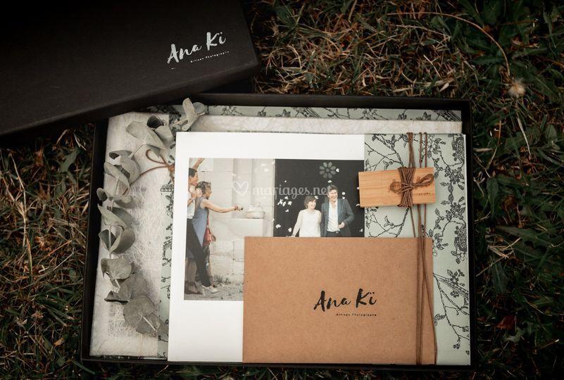 Album et coffret de mariage