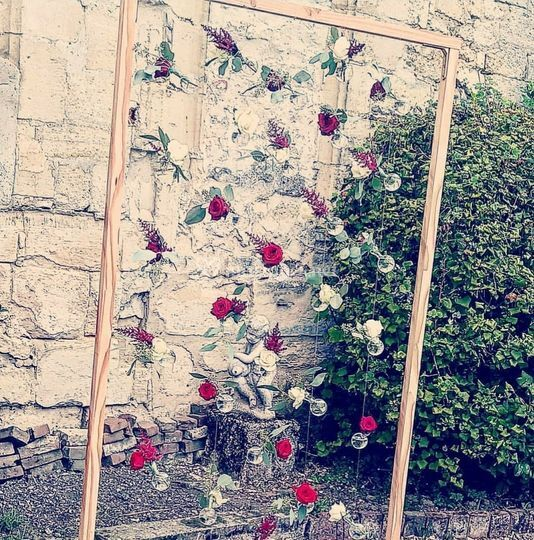 Suspension de fleurs