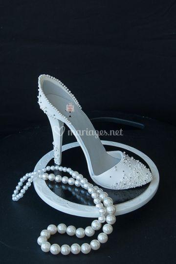 Modelage d'une chaussure
