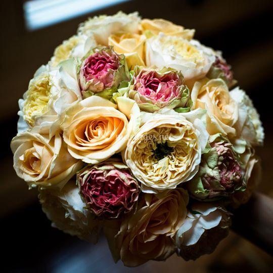 Tout en roses.....