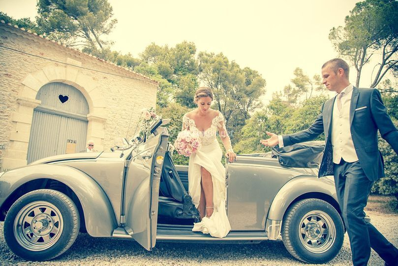 Chai et arrivée des mariés