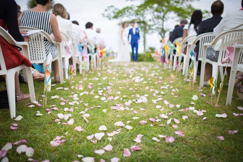 Parcours de fleur