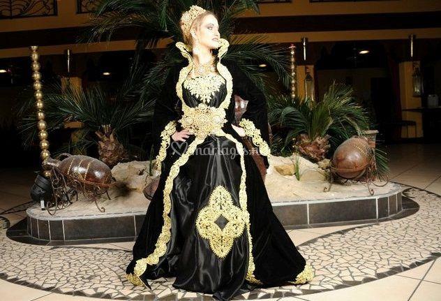 Robe algérienne royale