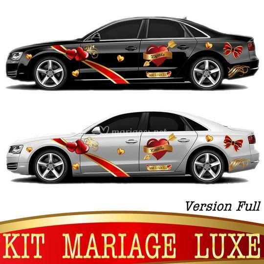 Kit Mariage Luxe vue de coté