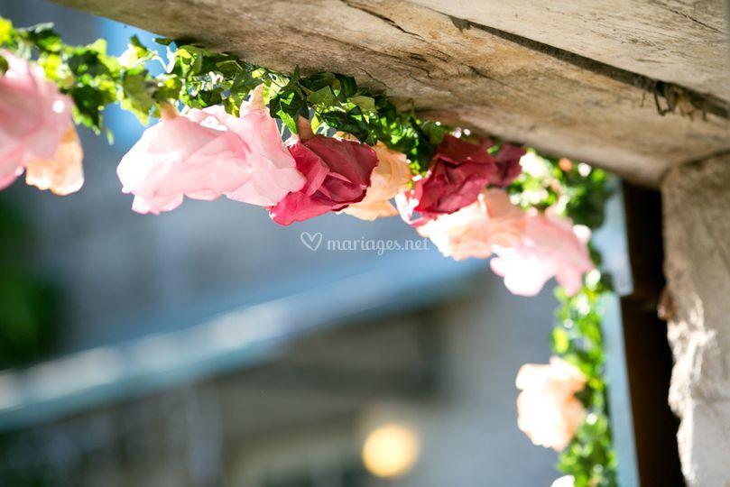 Décoration florale DIY