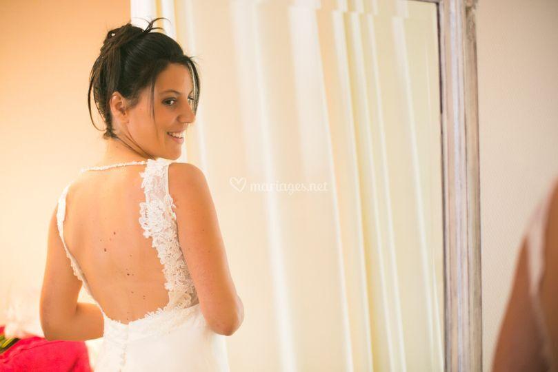 La mariée préparatifs
