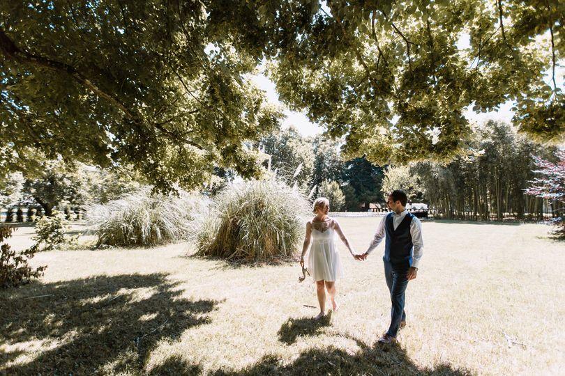 Mariage à Maumont