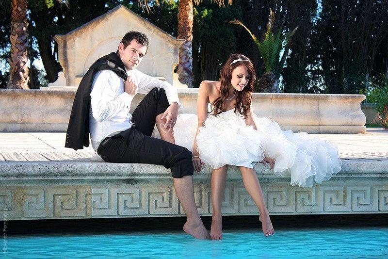 Mariage piscine