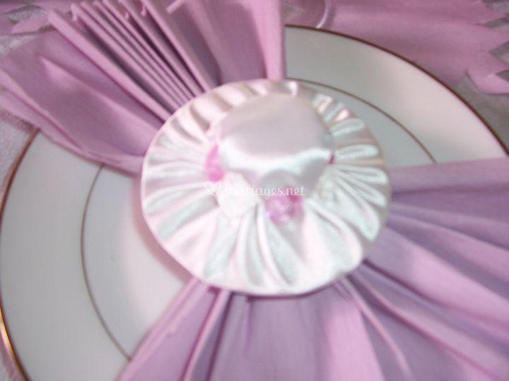 Décoration serviettes de table