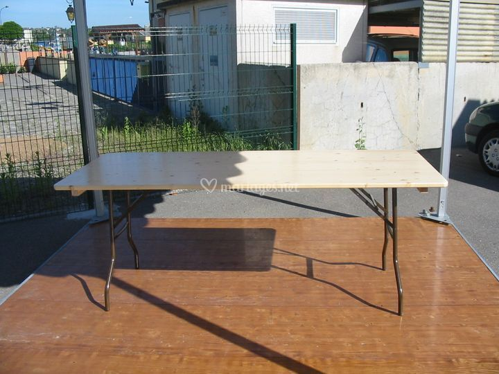 Table de réception (2m20x0.80m)