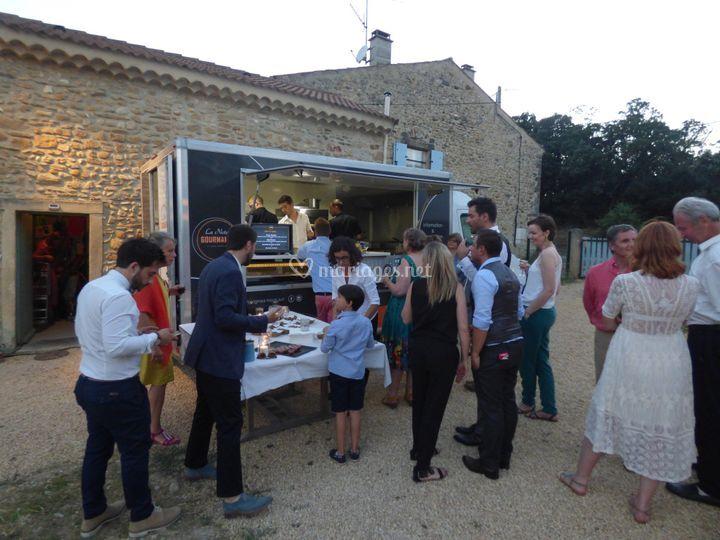 Food Truck soirée de Mariage