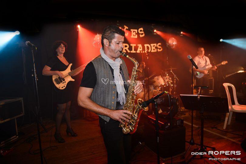 Le groupe Les Myriades 2016