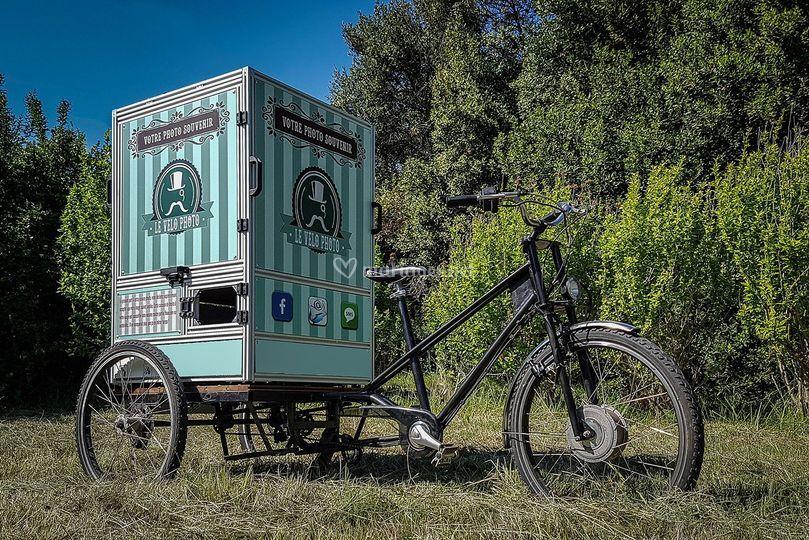 Vélo photo photobooth