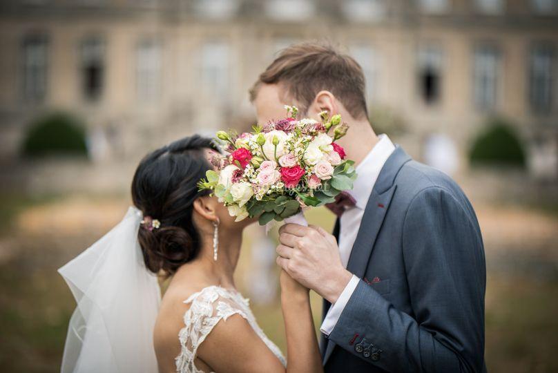 Des mariés magnifiques