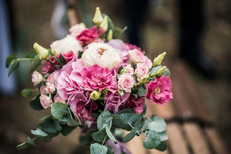 Bouquet de chaise des mariés