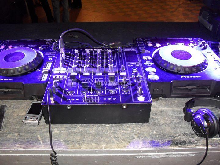 Regie DJ professionnel