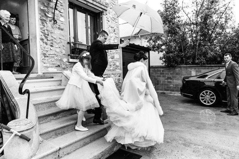 Voiture mariée